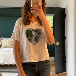 Madewell earth day t shirt